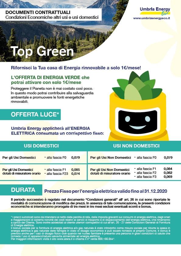 Umbria Energy Eco offerta top green